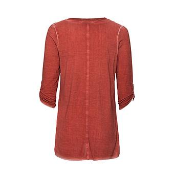 Basic Shirt mit Pailletten, redfox
