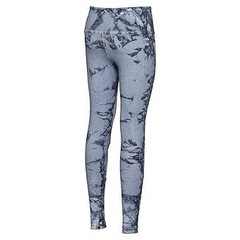 Baumwoll-Legging mit Pailletten, jeansblau