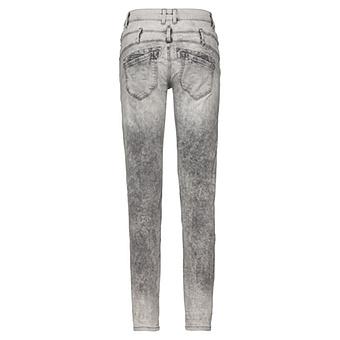 Hose mit Ziersteinen 80cm, grau