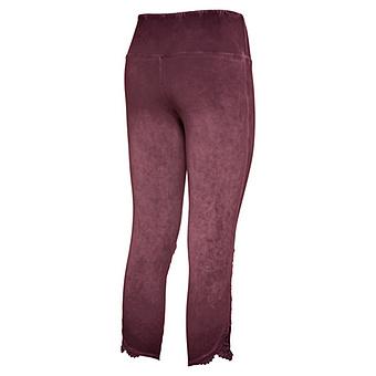 Baumwoll-Leggings mit Ziersteinen 55cm, hortensie