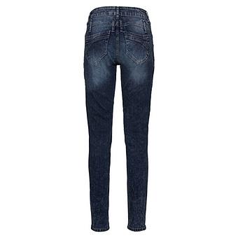 Jeans mit Glitzersteinchen 78cm, denim