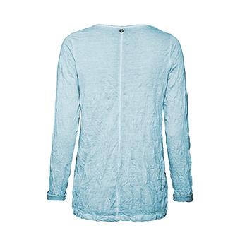 Basic Shirt mit Häkelspitze, curacao