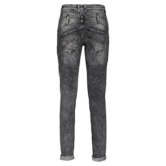 Jeans mit Zierband 80cm, grau