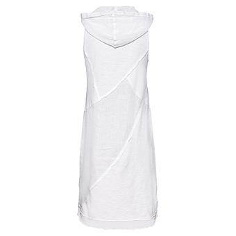 Kleid mit Patches, weiss