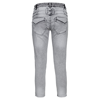 Sweat-Jeans mit 3D-Herzen 62cm, light grey