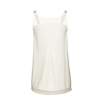 Basic Top Schimmer-Lurex, offwhite