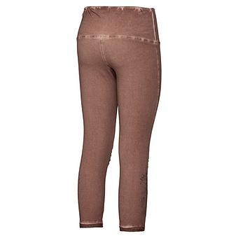 Baumwoll-Leggings mit Stern-Motiv 55cm, caramel