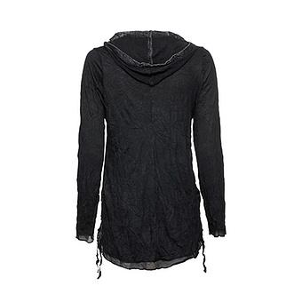 Crash-Shirt mit Rock-Design, schwarz