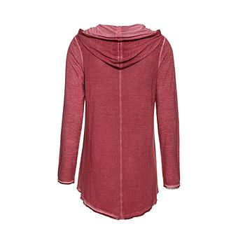 Shirt mit Schimmer Lurex, cranberry