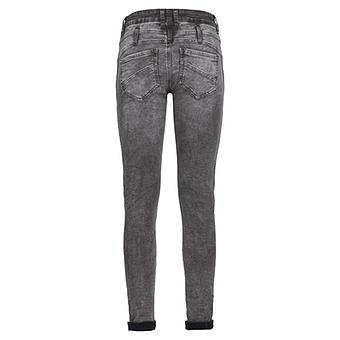 Sweat-Jeans mit Galonstreifen 78cm, grey