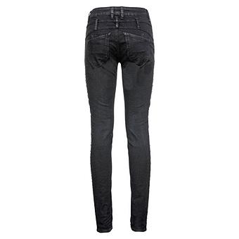 Sweat-Hose mit Glitzersteinchen 80cm, schwarz