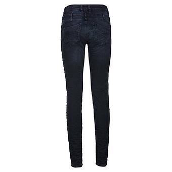 Sweat-Jeans mit Nieten 78cm, dark blue