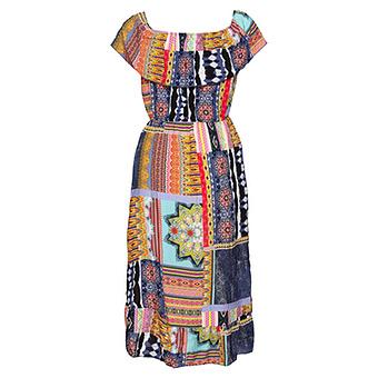 Kleid im Ibiza-Style, bunt