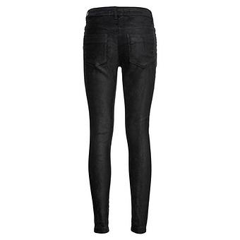 Hose in Wildleder-Optik 75cm, schwarz
