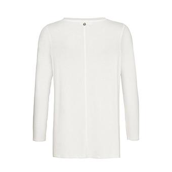 Shirt mit Glitzersteinen, offwhite
