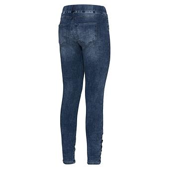 Jeggings mit used-Elementen 72cm, blue