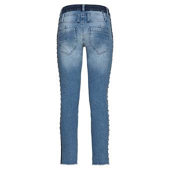 Jeans mit Nieten 70cm, blue