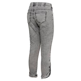Jeggings mit abgerundetem Saum 62cm, light grey