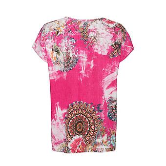 Oversize Shirt, sweetpink