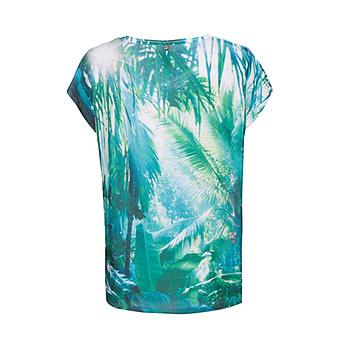 Oversize Shirt, grün