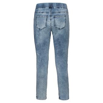 Jeggings mit Glitzersteinen 64cm, light blue
