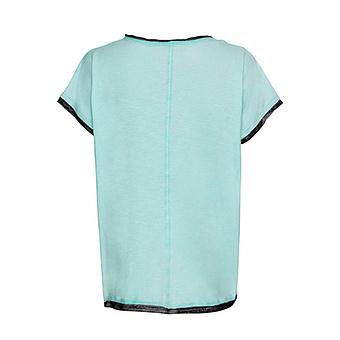 Oversize Shirt mit Stern, mint