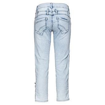 Jeans mit geradem Bein 64cm, bleached