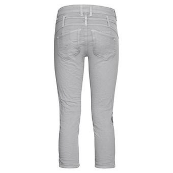 Hose mit Animal-Design 54cm, silber
