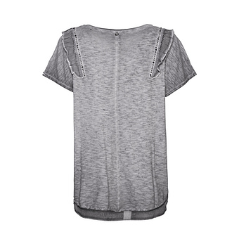 Shirt mit Volants, eiffelturm