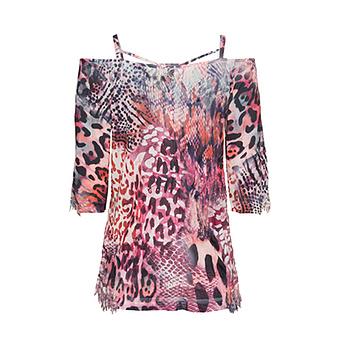 Shirt im Animal-Design, bunt