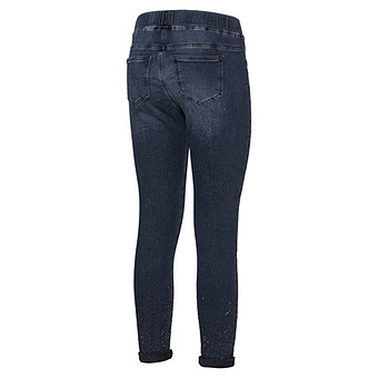 Jeggings mit Glitzersteinchen 70cm, dark blue
