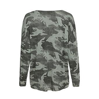 Shirt in Camouflage-Otik, khaki