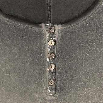 Basic Shirt mit Glitter, olio