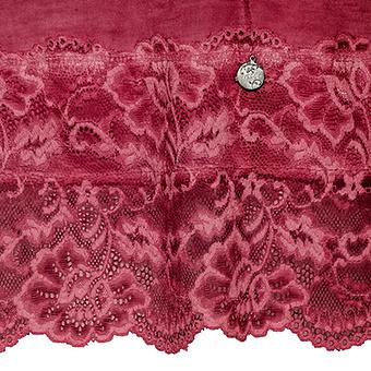 Basic Top aus Viskose 76cm, dahlie