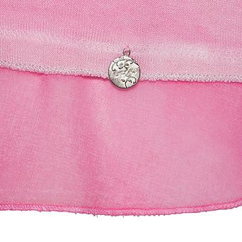 Basic Shirt mit Crèpe Georgette, baby pink