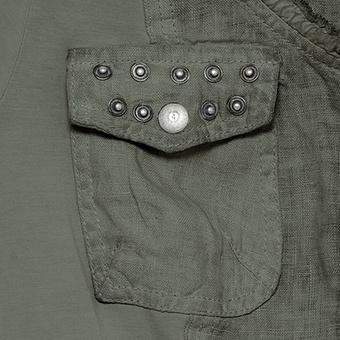 Shirtjacke mit Druckknöpfe, olio