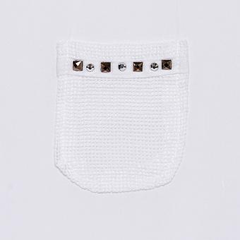Basic Shirt Oversized aus Viskose, weiß
