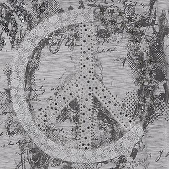 Tunikashirt mit Peace-Zeichen, eiffelturm