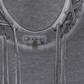 Sweatshirt mit Schnürung, magnet