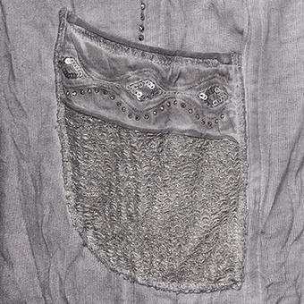 Sweat-Blazer mit Glitzer-Details, eiffelturm