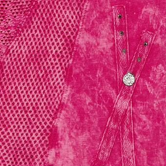 Top mit Loch-Optik, pinkberry