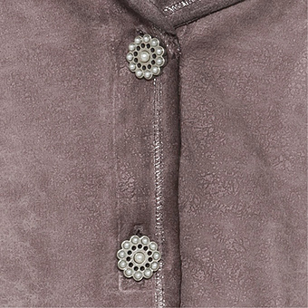 Sweat-Blazer mit Perlen, antikrose