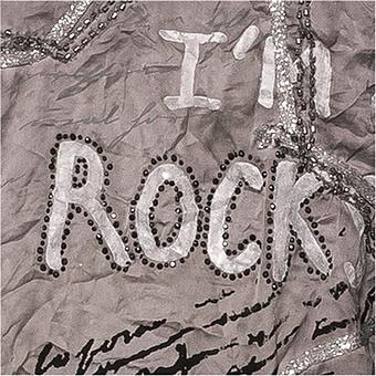 Crash-Shirt mit Rock-Design, antikrose