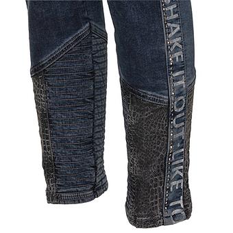 Jeans in einer Animal-Optik 70cm, dark blue