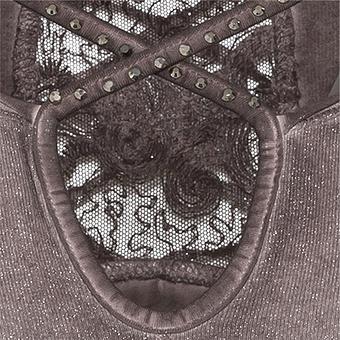 Shirt mit Cut-Out, antikrose