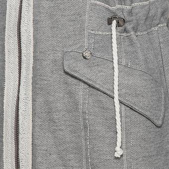 Sweat-Jacke mit Flügel-Print, hellgrau