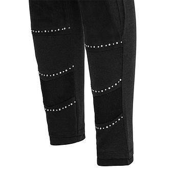 Leggings mit Wilderleder-Optik 68cm, schwarz