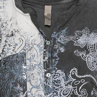 Viskose-Bluse mit Paisley-Print, magnet