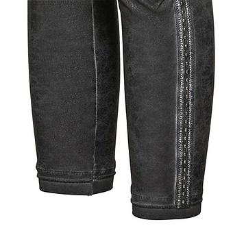 Baumwoll-Leggings in Leder-Optik 64cm, magnet
