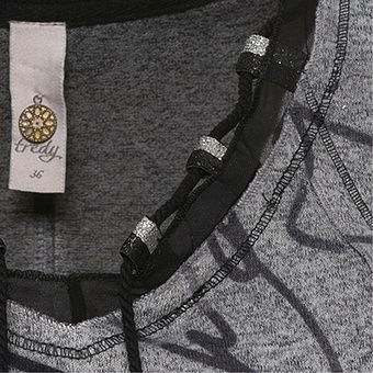 Shirt mit Print, magnet